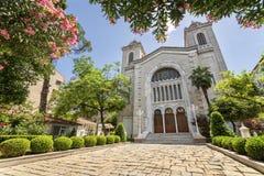 Aya Triada Greek Orthodox Church, Istambul, Turquia Imagem de Stock