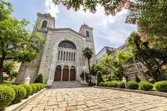 Aya Triada Greek Orthodox Church Istanbul, Turkiet royaltyfri bild
