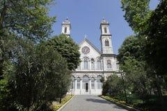 Aya Triada orthodox church Royalty Free Stock Image