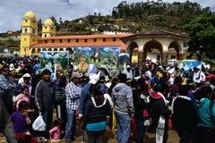 Ayabaca -秘鲁 免版税库存照片