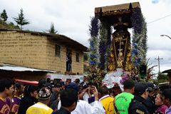 Ayabaca - il Perù Immagine Stock
