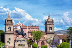 Ayacucho Plaza de Armas Royalty Free Stock Photo