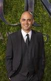 Ayad Akhtar Arrives bij 2015 Tony Awards Stock Fotografie