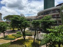 Ayala-Mitte Cebu Stockbild