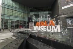 Ayala-Museum Makati Stockfoto