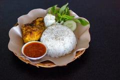 Ayam Bakar Kecap Photographie stock libre de droits