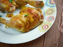 Ayam Goreng Kuning Lizenzfreie Stockfotos