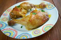 Ayam Goreng Kuning Imagen de archivo libre de regalías
