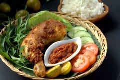 Ayam Penyet Fotografia Stock Libera da Diritti
