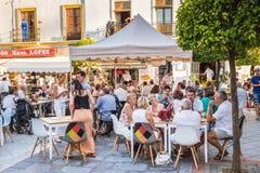 Ayamonte, Andalousie, Espagne Photo libre de droits