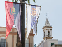 Ayamonte, The Anustias Festival Royalty Free Stock Photos