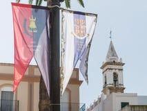 Ayamonte Anustias festiwal Zdjęcia Royalty Free