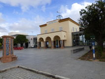 Ayamonte bus station Stock Images