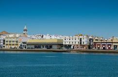 Ayamonte, Huelva spain Fotografia Stock Libera da Diritti