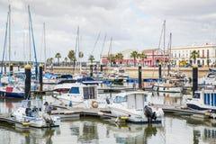 Ayamonte marina Royaltyfri Foto
