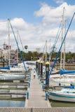 Ayamonte marina Royaltyfria Bilder