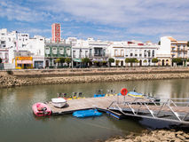 Ayamonte and the River Guadiana Royalty Free Stock Photography