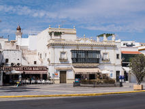 Ayamonte, Spain, Plaza de la Coronacion. Stock Photos