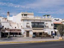 Ayamonte, Spain, Plaza de la Coronacion. Stock Photos