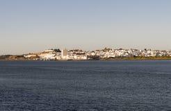 Ayamonte stad Huelva Spanien Royaltyfria Bilder