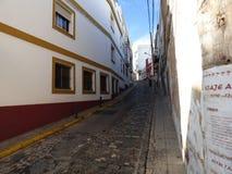 Ayamonte straatscène Stock Afbeeldingen
