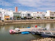 Ayamonte und der Fluss Guadiana Lizenzfreie Stockfotografie