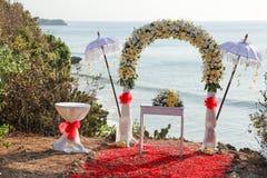 Ayana klippa i Bali Royaltyfri Fotografi
