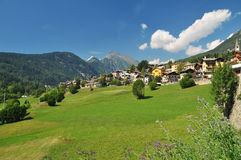 Ayas Valley, Aosta, Italy royalty free stock photo