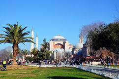 Ayasofia mosque in Istanbil Stock Photography