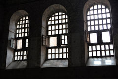 Ayasofya cathedral window Stock Photo