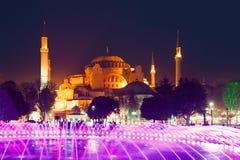 Ayasofya in Istanboel Stock Foto's