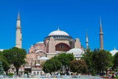 Ayasofya in Istanbul, die Türkei lizenzfreies stockfoto