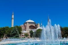 Ayasofya in Istanbul, Turkey Royalty Free Stock Images