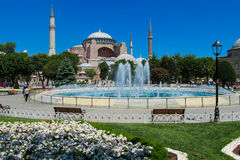 Ayasofya in Istanbul, Turkey Royalty Free Stock Photography