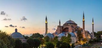Ayasofya Museum Hagia Sophia in Istanbul stock photo