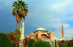 Ayasofya sophia Hagia από την Κωνσταντινούπολη Τουρκία Στοκ Φωτογραφίες