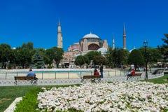 Ayasofya at Sultanahmet square in Istanbul, Turkey Royalty Free Stock Photo