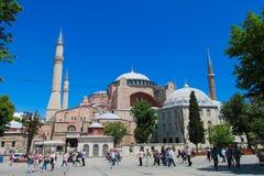 Ayasofya at Sultanahmet square in Istanbul, Turkey Royalty Free Stock Photos