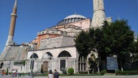 Ayasophia Istanboel Stock Foto's