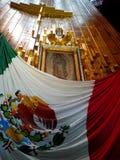 Ayate του SAN Juan Diego στη βασιλική guadalupe στο Μεξικό Στοκ φωτογραφία με δικαίωμα ελεύθερης χρήσης