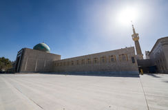 Ayatollah Khomeini Mausoleum. Mausoleum of Ruhollah Khomeini in Teheran, capital of Iran Stock Photo