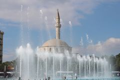 Aydin Bey mosque Stock Photos