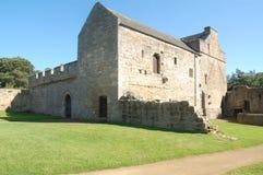 Aydon城堡 免版税库存照片