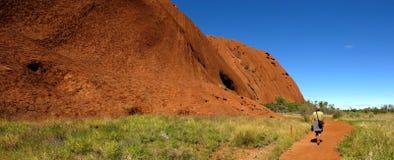 Ayers Felsen, Nordterritorium, Australien lizenzfreies stockfoto