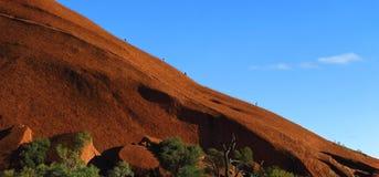 Ayers Felsen, Nordterritorium, Australien lizenzfreie stockfotos