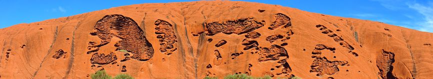 Ayers Felsen, Nordterritorium, Australien stockbild
