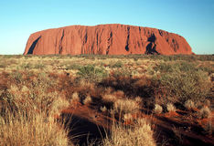 Ayers Rock. Indigenous Name-Uluru, commonly known as Ayers Rock Royalty Free Stock Image