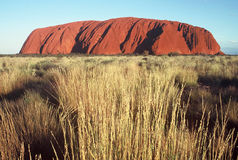 Ayers Rock. Indigenous Name-Uluru, commonly known as Ayers Rock royalty free stock images