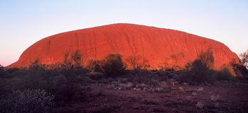 Ayers Rock. Indigenous Name-Uluru, commonly known as Ayers Rock Stock Photo