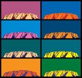 Ayers Rock Royaltyfria Foton